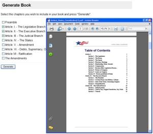 PDF Book Generator