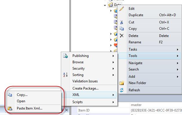Sitecore Rocks - Get Item XML