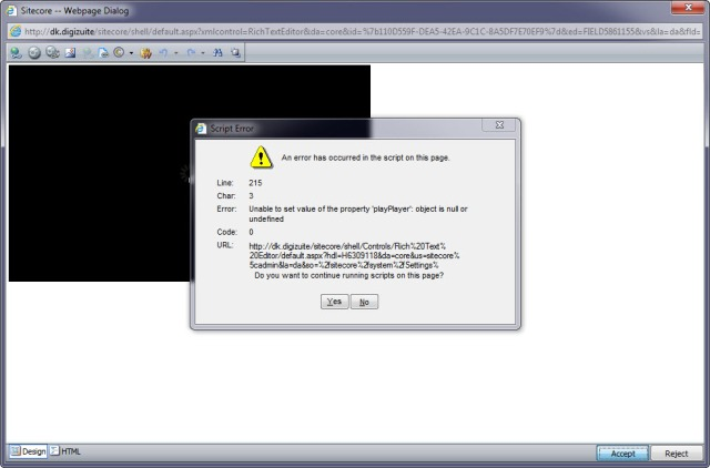Java Script Errors