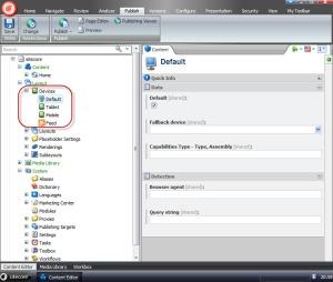 Sitecore Devices