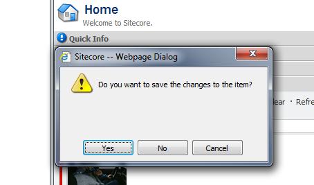 Save Dialog