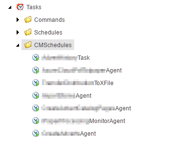 Scheduled Tasks in separate folder