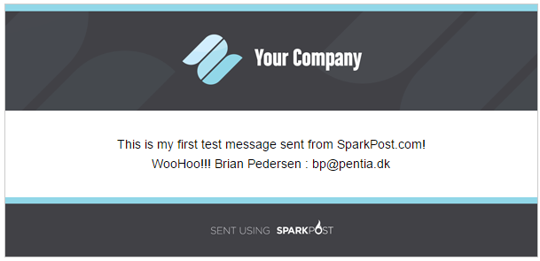 Sparkpost Email