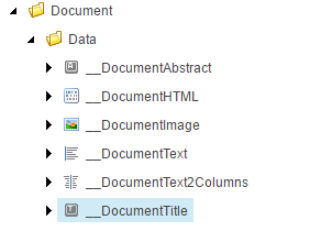 Templates with icons
