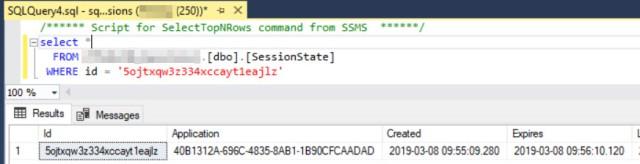 Session in SQL