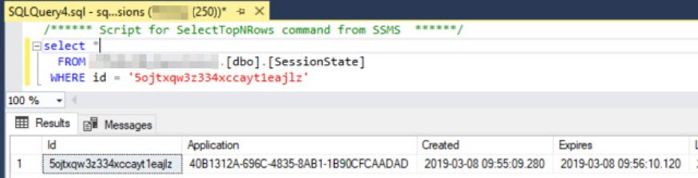 Session in SQL